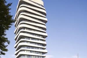 Mit dem Hochhaus Sky realisierte die Bietigheimer Wohnbau GmbH ein zukunftsweisendes Immobilienprojekt für stilvolles Wohnen und attraktives Arbeiten