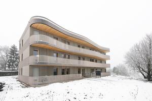 Neben dem Haus im Rohrackerweg sind bereits Gebäude für Studenten-WGs, Familien und Betreutes Wohnen realisiert