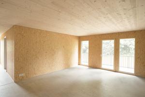 Zentrales Element jeder Wohnung ist eine großzügige Wohnküche