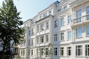 Das Haus Winter entstand in Massivbauweise aus Kalksandstein und Stahlbeton