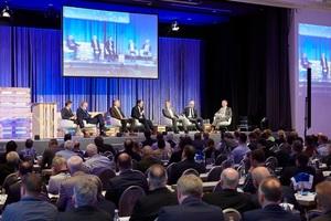 """Bei der Podiumsdiskussion steht das Thema """"Energieeffizienz als Baukostentreiber?"""" auf der Agenda"""