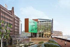 Auf ehemaligen Großmarktflächen zwischen Hamburger Hauptbahnhof und Hafencity entwickelt sich der Hammerbrooklyn.DigitalCampus zum Vorreiter in Sachen digitaler Transformation und Innovation