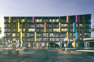 Intelligente, zunehmend automatisierte Wohn- und Zweckgebäude ...
