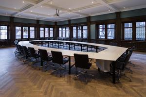 Der historische Hofgerichtssaal wurde inzwischen zum Veranstaltungsraum