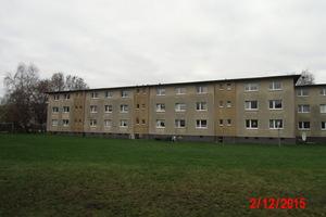 Wulsdorf: Die Mietskasernen aus den 1950/60er-Jahren boten einen trostlosen Anblick – hier das Spiralhaus in Wulsdorf vor der Sanierung