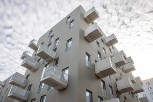 Eine Herausforderung für die Tragstruktur waren die Öffnungen in der Fassade, da diese zwar alle gleich groß sind, aber nicht übereinander liegen