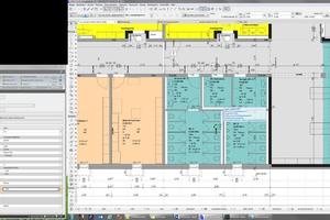 Raum- und Inventarlisten und die dazugehörigen Planinformationen lassen sich direkt miteinander verknüpfen und in Beziehung setzen. Das erleichtert die Gebäudeverwaltung enorm, da die Daten nicht mühsam zusammengesucht werden müssen