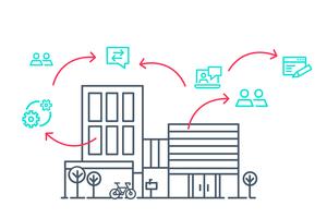Der Einsatz eines Portals garantiert maximale Verfügbarkeit – Immobilienverwalter sind jederzeit erreichbar<br />