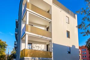 Der Qualitätsanspruch zeigt sich bis ins Detail: alle Balkone verfügen über individuell geplante Glasgeländer