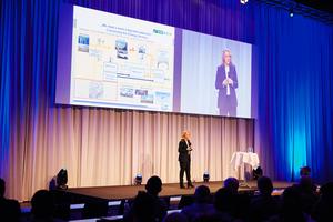 In ihrem Vortrag plädierte Prof. Dr. Claudia Kemfert für eine Verknüpfung der Energiesektoren
