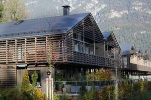 Holz reguliert das Raumklima und fördert die Wohngesundheit