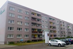 Vor der Modernisierung: das Erscheinungsbild des Gebäudes sowie Größe und Zustand der Balkone waren in die Jahre gekommen