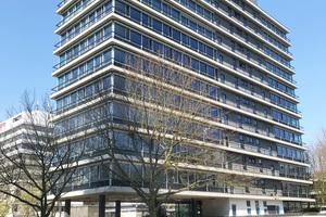 So sieht es aus: Das Serviced Apartmenthaus am Kapstadtring in der Hamburger City Nord<br />