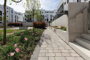 """Der 2017 fertiggestellte Wohnkomplex """"Blink Your Eyes"""" auf dem Riedberg"""