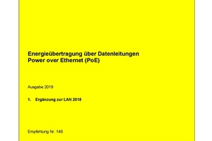 Energieübertragung über Datenleitung - Power over Ethernet (PoE)