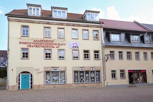 Die Geschäftsstelle der Allgemeine Wohnungsgenossenschaft Frankenberg/Sa. eG