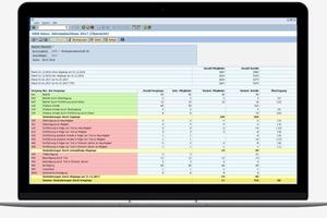 Beim Jahresabschluss wird durch die zentrale Darstellung aller relevanten Informationen viel Arbeitszeit eingespart