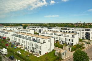 """Beim Bau des """"Stadtquartier Süd"""" kam das Unika Planelemente Bausystem zum Einsatz"""
