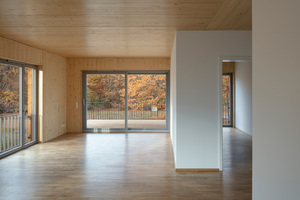 Mit dem Bau- und Werkstoff Holz kann man auch in der Stadt naturnah wohnen