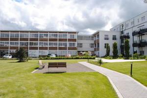 """Der Campus alte Lederfabrik in Euskirchen-Flamersheim wurde komplett modernisiert. Hier zu sehen ist das """"alte Fahrerlager"""", das die Heizungsanlage beherbergt"""