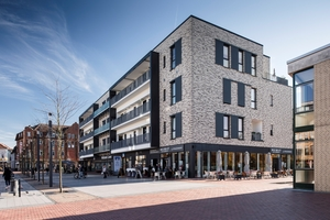 Tiefgreifende bauliche Maßnahmen verwandelten das ehemalige Hertie-Kaufhaus in ein attraktives Mietwohnobjekt in der Innenstadt