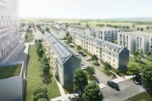 Das Projekt Square ist ein Demonstrationsvorhaben für die energetisch optimierte Bestandsentwicklung von Wohnquartieren