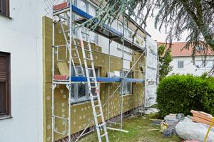 Auch bei diesem Einfamilienhaus in Bottrop wurde das recyclingfähige System bereits erfolgreich eingesetzt