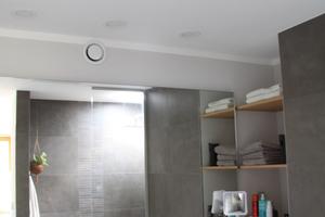 Die Infrarot-Strahlungswärme wird im Bad als besonders angenehm wahrgenommen