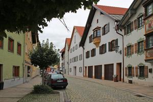 In der Füssener Altstadt entstanden 20 Wohnungen in leer stehenden Gebäuden der Elektrizitätswerke Reutte