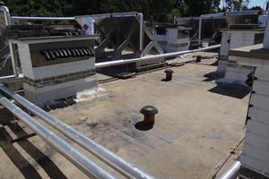 Bei der Abdichtung des Flachdaches sollte der vorhandene Aufbau erhalten bleiben