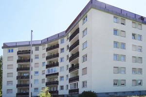 Die Wohnqualität in diesem Mehrfami-lienhaus in Altenhofen/Kärnten war durch Wassereinbrüche beeinträchtigt