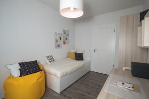 Die Wohnungen orientieren sich am Bedarf in Dresden und bieten unterschiedliche Größen passend für Familien, Singles und Senioren