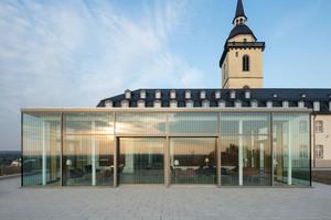 Die Abteil Michaelsberg wurde das Gebäude zu einer hochmodernen Tagungs- und Bildungseinrichtung umgestaltet