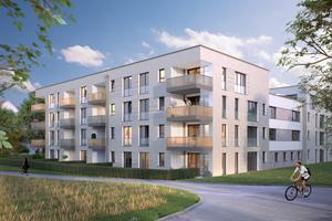 So sieht das Wohnquartier aus, wenn es im Herbst 2020 fertiggestellt ist