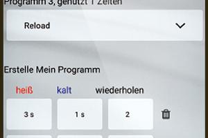 Mit der kostenlosen Hansa Connect App kann der Nutzer die unterschiedlichen Programme steuern und individualisieren