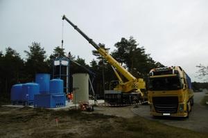 Errichtung einer Grundwassersanierungsanlage