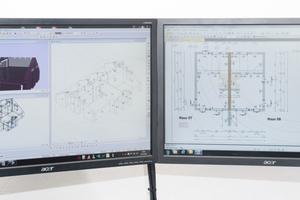 Jedes Bauvorhaben wird auf Grundlage der vorhandenen Pläne in einzelne Elemente unterteilt