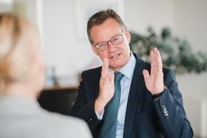 Axel Gedaschko, Präsident des Spitzenverbandes der Wohnungswirtschaft GdW und BID-Vorsitzender