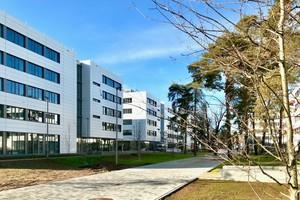 Fristgerecht sind die ersten Siemens Mobility-Mitarbeiter in die frisch eröffneten Gebäude im ersten Modul auf dem Siemens Campus eingezogen