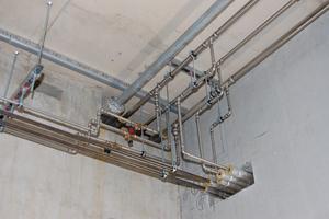 Mit dem System NiroSan lassen sich hochwertige Trinkwasserinstallationen einbauen