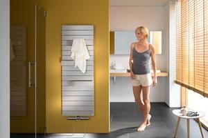 Mehr Komfort ermöglichen Anschlussgarnituren, die den Fußbodenheizungskreis über den Heizkörper an das vorhandene Netz anbinden