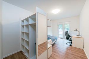 33 internatsähnliche Zimmer und 42 Dauerwohnplätze stehen zur Verfügung