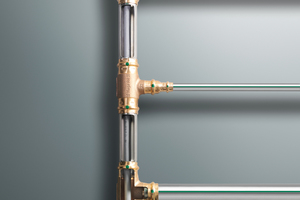 """Inliner-Installationen, bei denen PWH-C innerhalb der """"Zuleitung"""" rückgeführt wird, sorgen für signifikant niedrigere Energieverluste, also auch für eine deutlich geringere Erwärmung der Umgebung – Stichwort: Wärmeübergang auf Kaltwasser führende Trinkwasser-Installationen in Schächten mit Gemischtbelegung"""