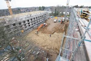 Auf einem rund 6.000 m² großen Terrain errichtet Gundlach als Bauträger aktuell in Hannover zwei hochwertig ausgestattete Mehrfamilienhäuser mit insgesamt 47 Wohnungen