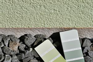 Von der Natur inspirierter Farbklang: Gelbgrün-Blaugrün-Goldocker
