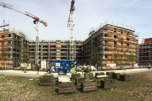Die Wohnanlage wurde im KfW-EffizienzhausStandard 55 realisiert und verbraucht 45 % weniger Primärenergie als ein vergleichbarer Neubau