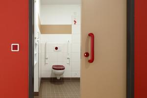 Rot gilt in der Demenz- und Geriatrieforschung als außerordentlich gut wahrnehmbare Farbe