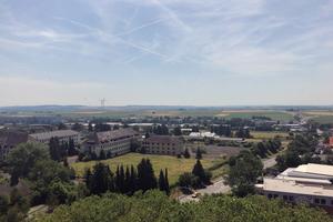 Das Konversionsgelände in Friedberg von oben betrachtet