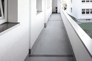 Die Abdichtungs- und Beschichtungssysteme in der Variante S1 sind in der Baupraxis anerkannte Lösungen, wenn es um das Herstellen von feuersicheren Oberflächen im Außenbereich geht