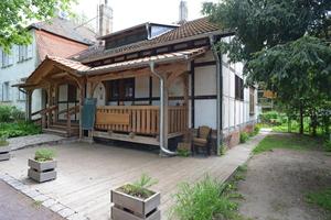 Das ökologisch orientierte Café am Herrenkrugpark